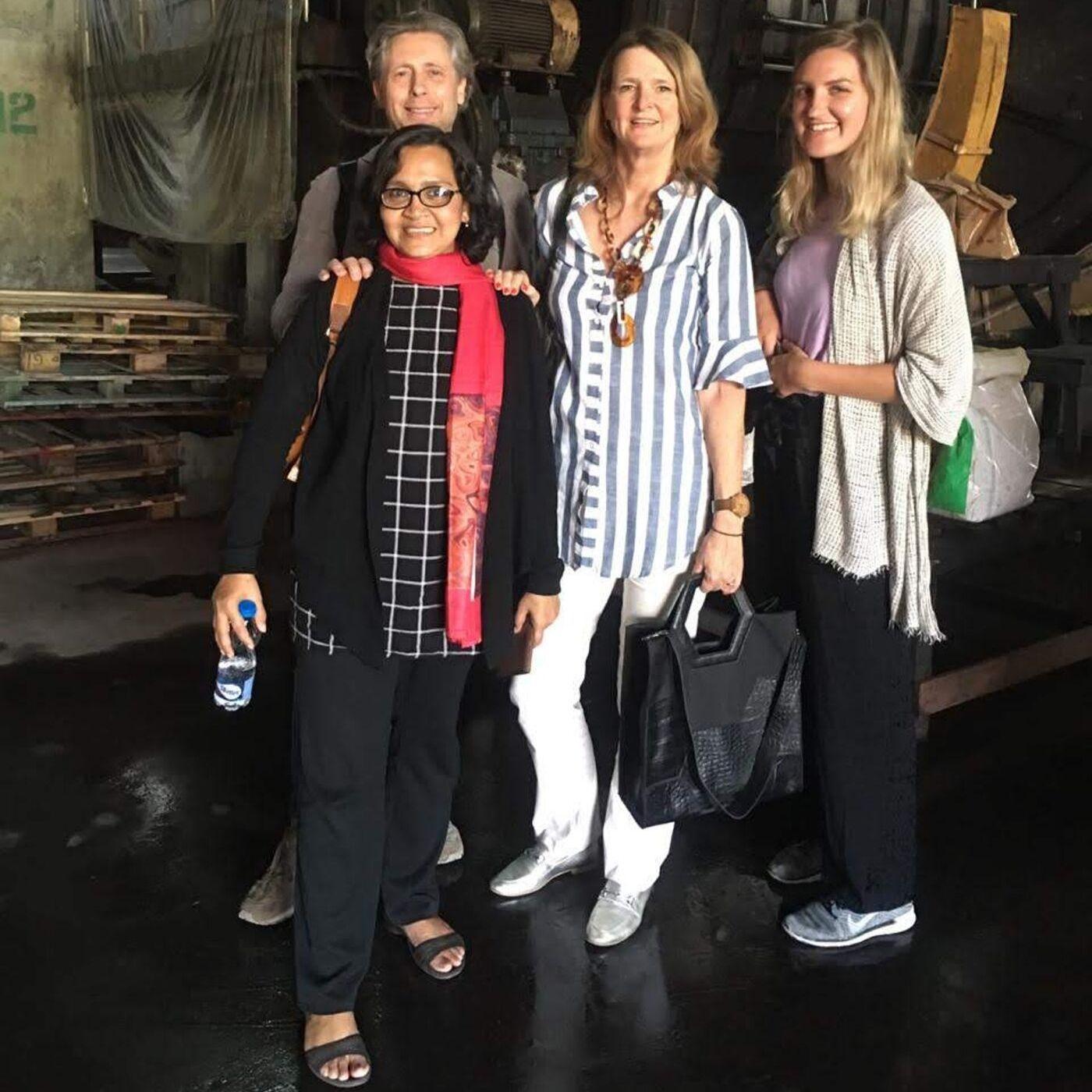 Team MYOMY do goods in Bangladesh