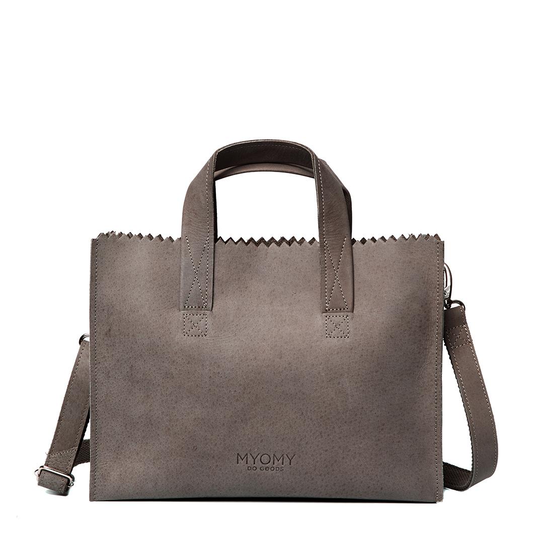 MY PAPER BAG Handbag cross-body – hunter taupe
