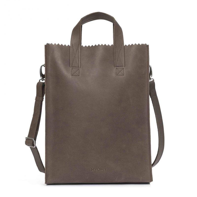 MY PAPER BAG Short handle cross-body