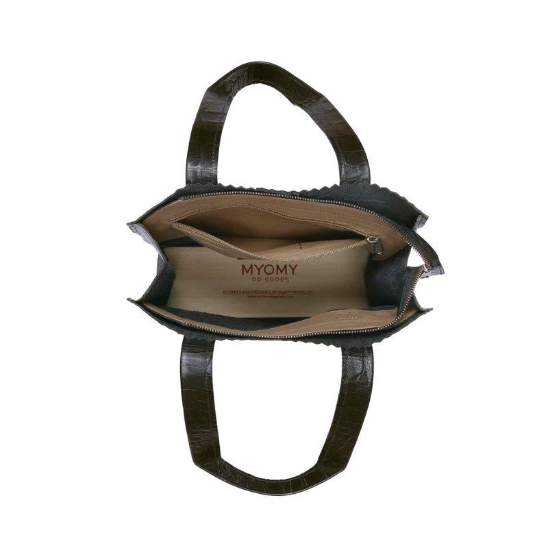 MY PAPER BAG Long handle zip