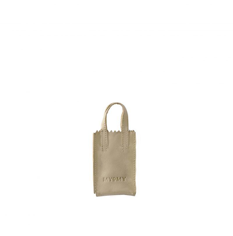 MY PAPER BAG miniatuur met sleutelhanger